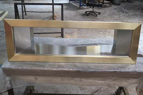 Brass and Stainless steel chute