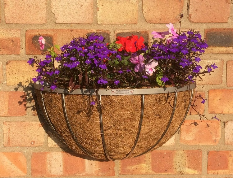 stainless steel wall mounted basket